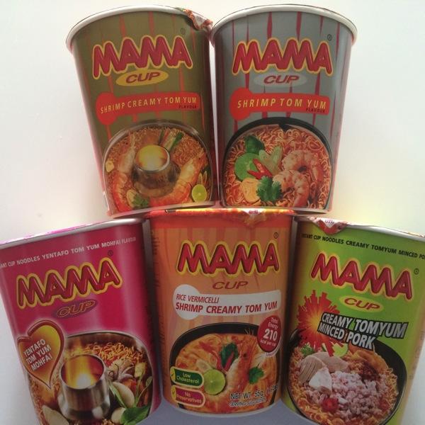 【MAMAシリーズ】トムヤムクンヌードル 5銘柄を食べ比べてみた