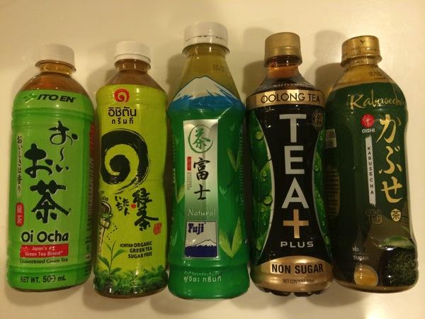 【甘くない】タイのペットボトルのお茶5選