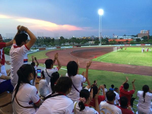 【サッカー観戦】5月3日 タイ ホンダFC vs チャムチュリ・ユナイテッド