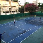 【バンコクでテニス】トンローの民営テニスコート ソイ36と38の間 Santisuk Tennis
