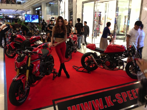 【バイク】2013 バンコクモーターバイクフェスティバルの様子