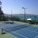 【パタヤでテニス】オーシャンビューのコートでプレーするならDusit Thaniが最高!