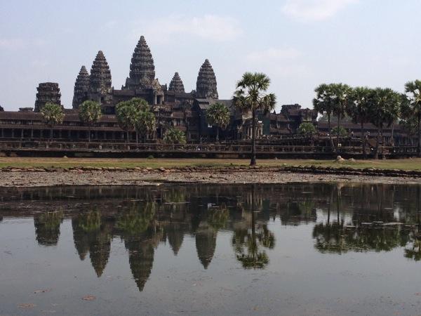 【アジア旅行記】カンボジア アンコール・ワットなどの遺跡群を自転車で周遊