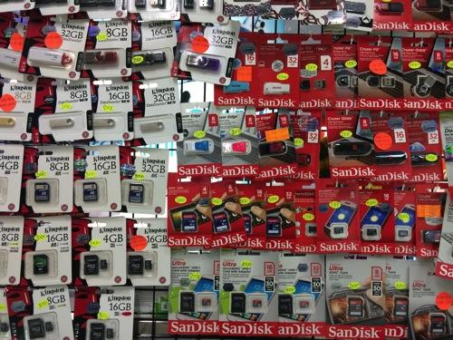 バンコクでWi-Fi SDカードを探してみた