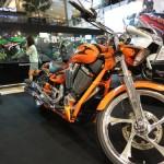 大型バイクがタイでも人気 バンコクモーターバイクフェスティバル2014