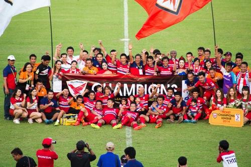 【タイ・サッカー】2015 タイホンダFC 試合予定(ホーム戦)