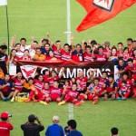 タイサッカーD2 プレーオフへタイホンダFCがリーグ1位で通過!