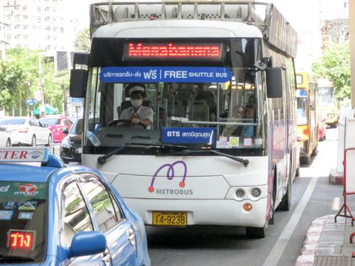 バンコクのIKEAに、無料シャトルバスに乗って行く行き方