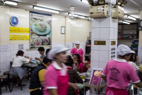 ピンクのカオマンガイ屋 店内2