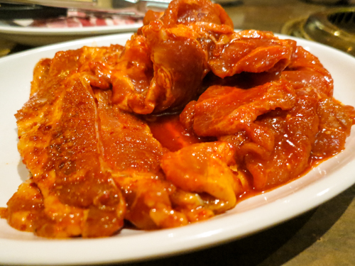 299バーツで韓国風の焼肉が食べ放題!トンローのゴシレに行ってみた。