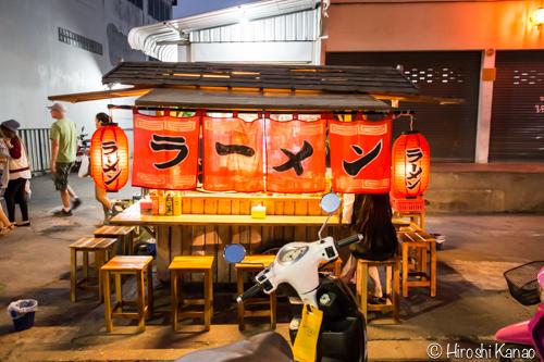 昭和のラーメン屋台にウドンタニで出会った。日本よりも日本な風情と味に感動!