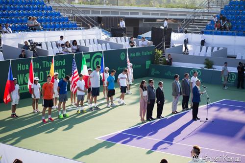 ホアヒン 年末年始 テニス大会 world tennis championship 20152