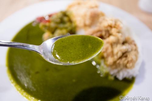 チョウナン 緑茶カレー 3