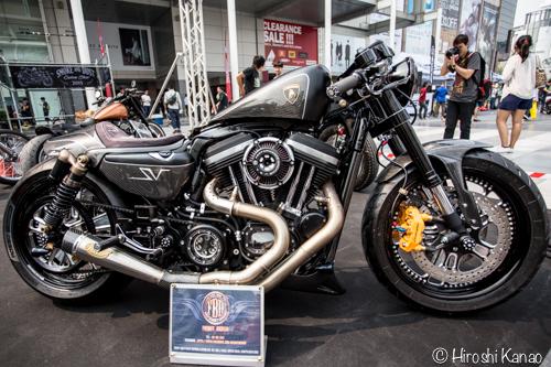 【写真】バンコクモーターバイクフェスティバル2015 今年はハーレーのカスタムショーも開催