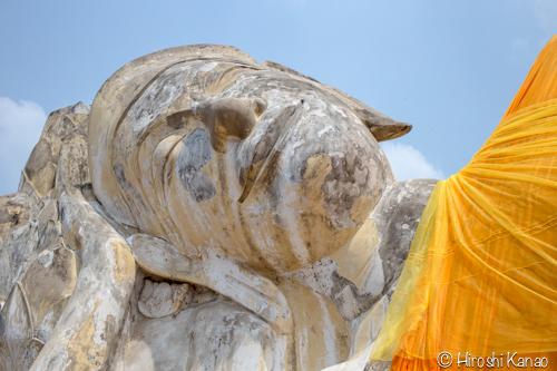 タイ 涅槃仏