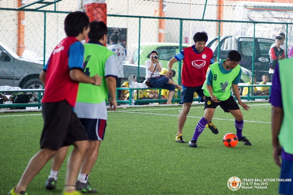 Peace ball action thailand measot tournament 2015  1