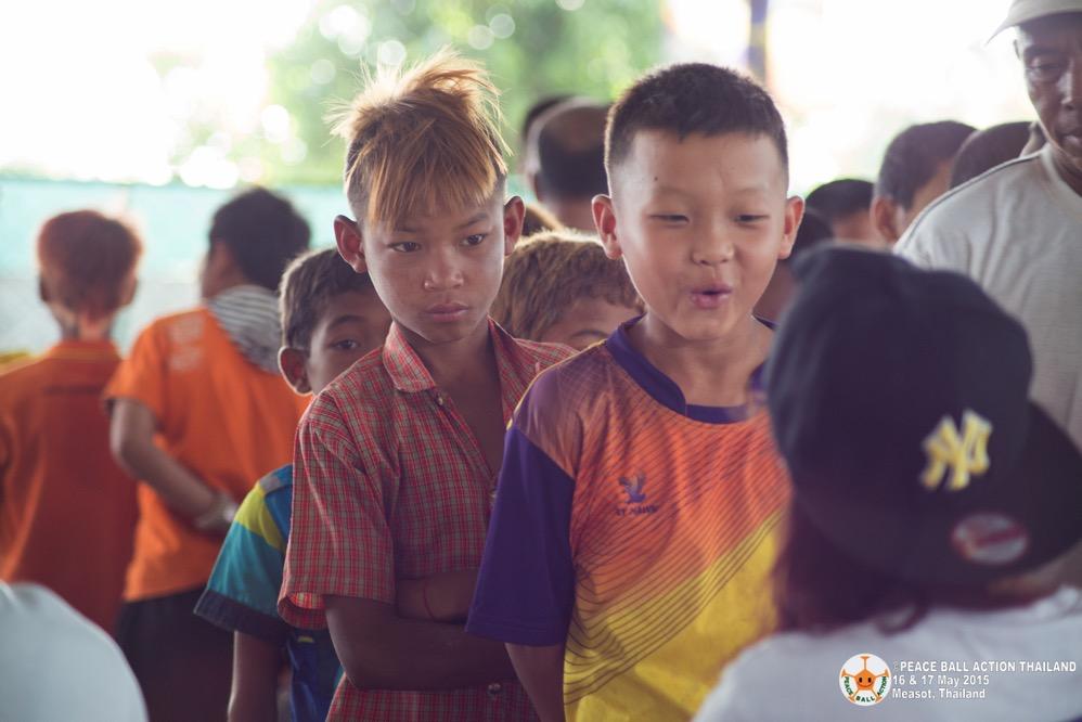 Peace ball action thailand measot tournament 2015  19