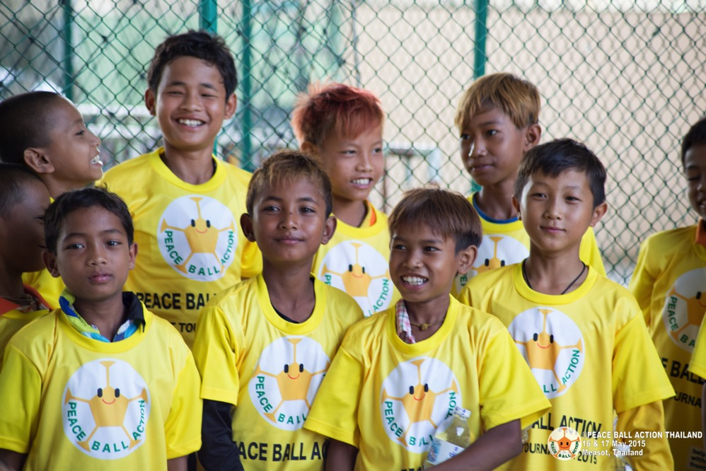 Peace ball action thailand measot tournament 2015  21