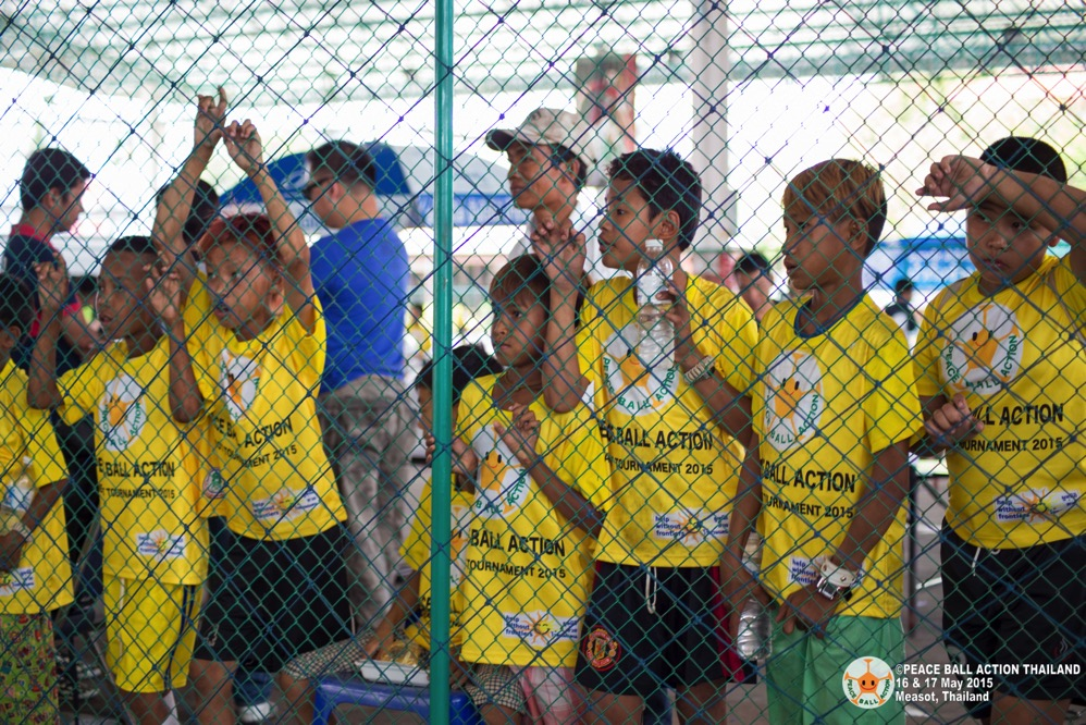 Peace ball action thailand measot tournament 2015  3