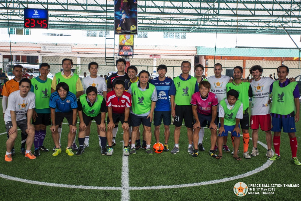 Peace ball action thailand measot tournament 2015  4