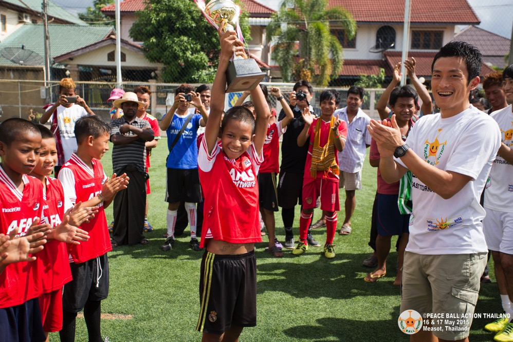 Peace ball action thailand measot tournament 2015 day2  118