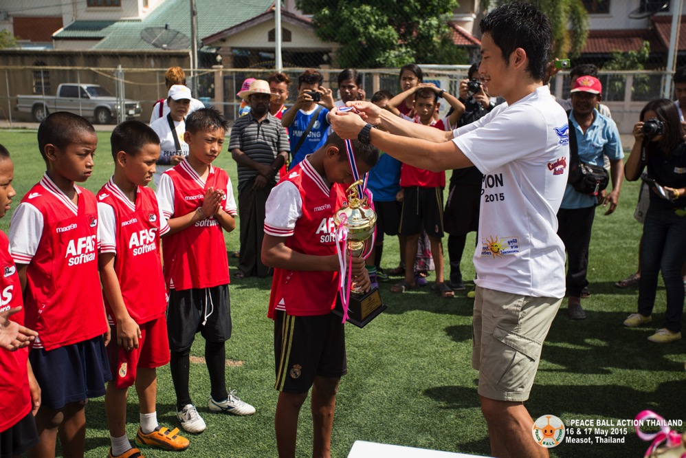 Peace ball action thailand measot tournament 2015 day2  119