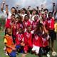 【サッカー大会2日目】ピースボールアクショントーナメントinメーソット2015 プロサッカー選手によるサッカー教室