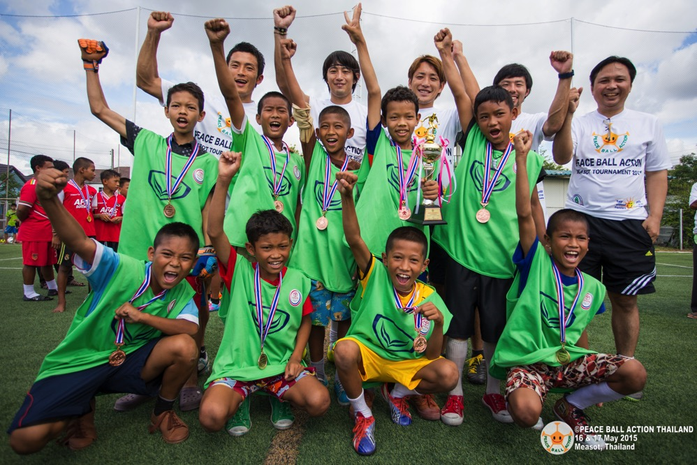 Peace ball action thailand measot tournament 2015 day2  133