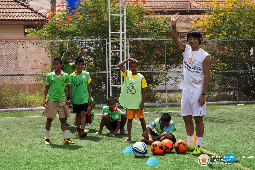Peace ball action thailand measot tournament 2015 day2  148