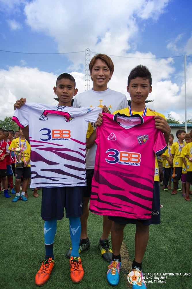 Peace ball action thailand measot tournament 2015 day2  60