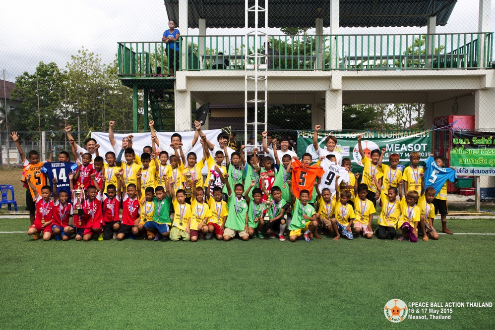 Peace ball action thailand measot tournament 2015 day2  62