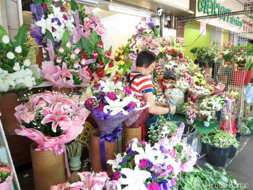 バンコク フラワーマーケット 22