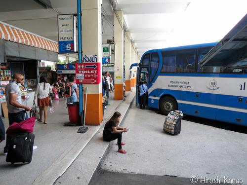 バンコク パタヤ バス 12