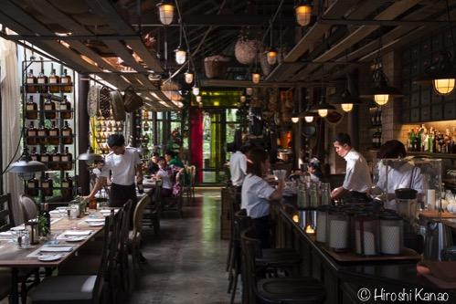 タイの人気アロマ「カルマカメット」のお洒落なレストランに行ってみた
