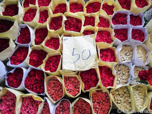 バンコク フラワーマーケット 15