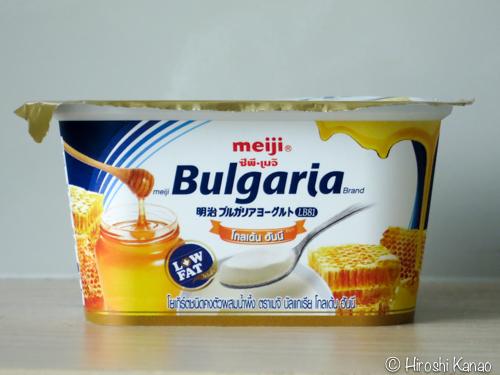タイのブルガリアヨーグルトにハチミツ味登場!
