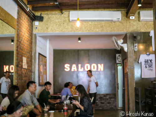 Ubon saloon coffee 1