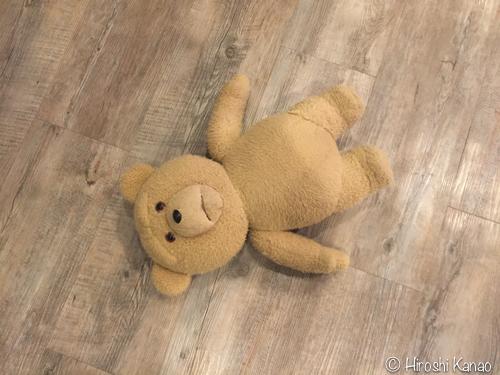 テッドのぬいぐるみ