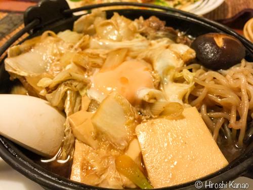 バンコク キッチン新潟 すき焼き