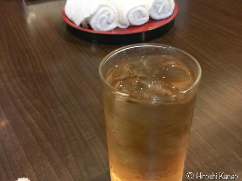 日本食レストランで油断してたら、甘いお茶が出てくるから気をつけろ!