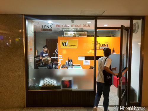タイ人限定だけど、バンコクでデジタル一眼やGoProをレンタルできるお店 LENS LINEUP