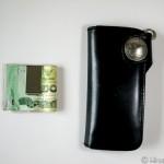 長財布からマネークリップにしたら、おしりポケットがスッキリするし超快適!