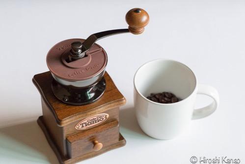 バンコク 手挽きミル グラインダー コーヒー1