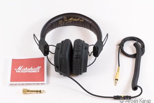 タイ バンコク マーシャル ヘッドフォン marshall major fx  3