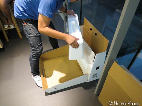 IStudio 開封の儀 iMac2015retina 2