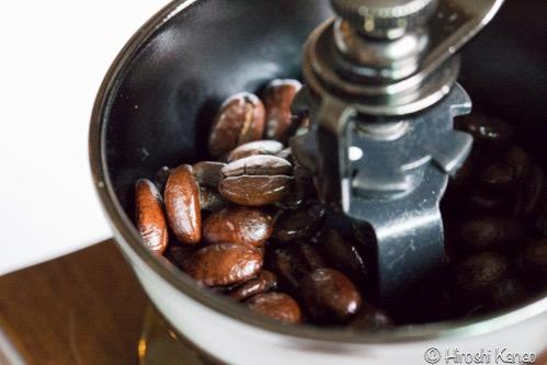 バンコク 手挽きミル グラインダー コーヒー12
