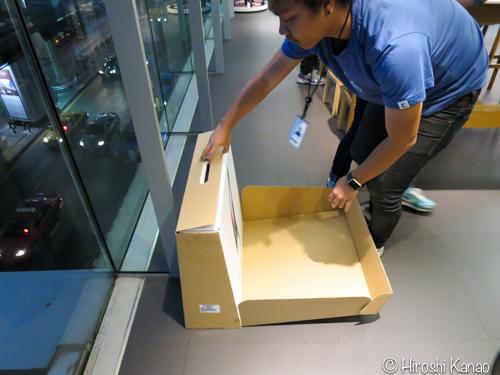 IStudio 開封の儀 iMac2015retina 1