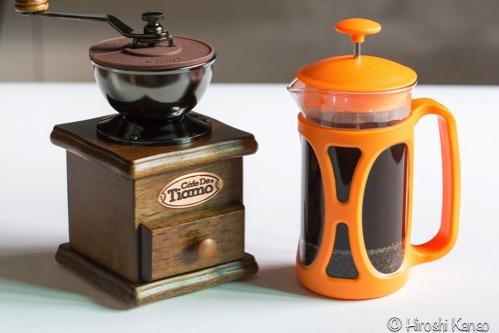 バンコク 手挽きミル グラインダー コーヒー16