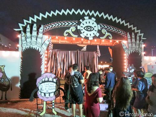 アートとナイトマーケットのイベント「AREA-FIVE 2015」に行ってみた