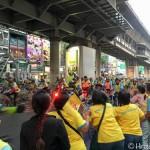 タイ国王誕生日を記念したサイクリングイベントBike for Dad(バイクフォーダッド)の様子
